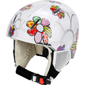 Alpina Carat LX casco Bambino bianco